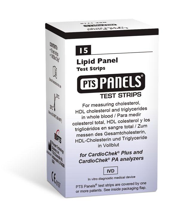 Lipidpanel, 15 st