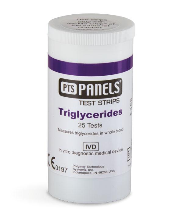 Triglycerider, 25 st