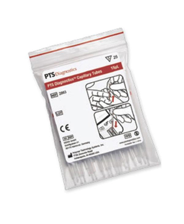 Kapillärpipett (plast/glas), 15 μl
