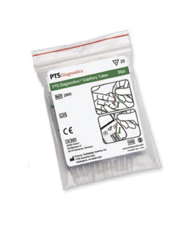 Kapillärpipett (plast/glas), 30 μl
