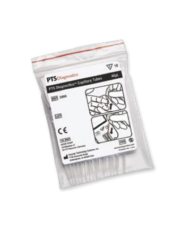 Kapillärpipett (plast/glas), 40 μl